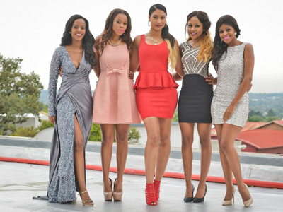 The cast of Diski Divas Kat, Gigi, Nonhle, Wendy Parker and Felicia