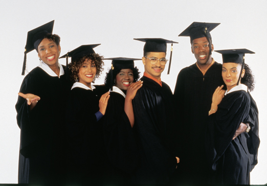 An image of the cast of A Different World on Sony