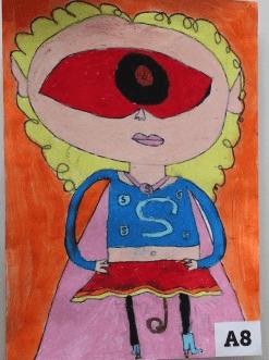 Sania Sivalingam Moodley drawing for Animation generation