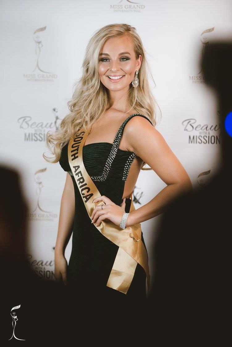 South Africa's Caitlin Harty.