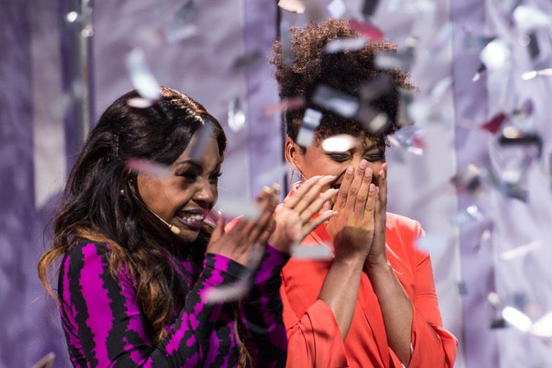 Karen Paida Mukwedeya and Carissa Cupido
