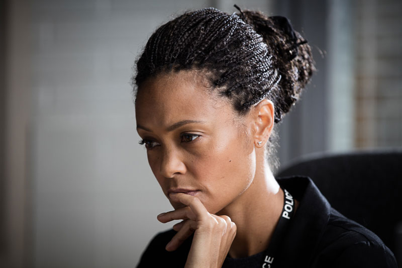 Thandie Newton on Line of Duty.
