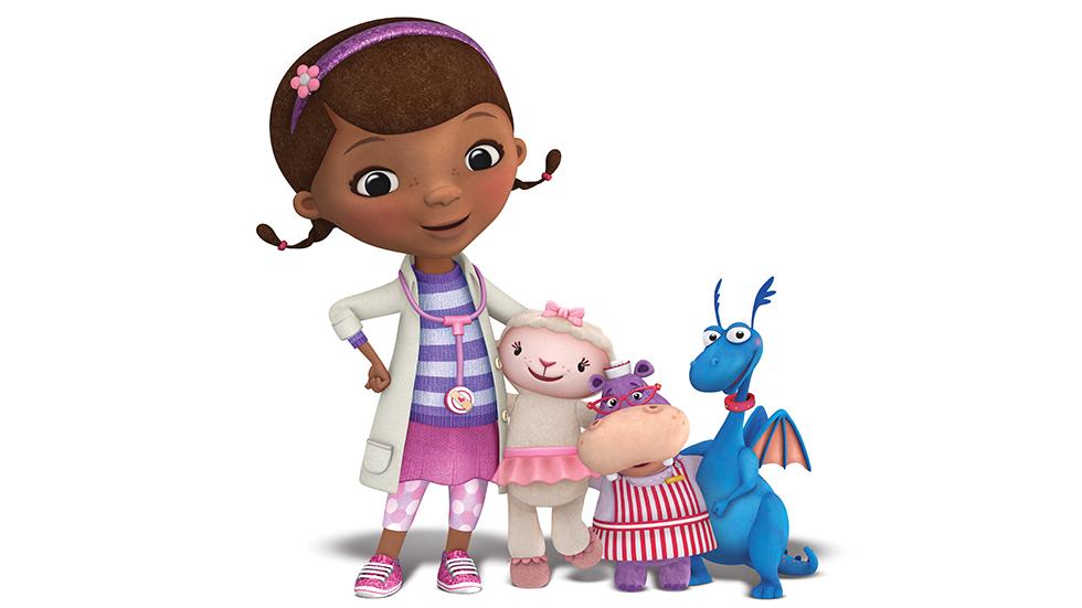 Dstv, disney Junior, doutora brinquedos