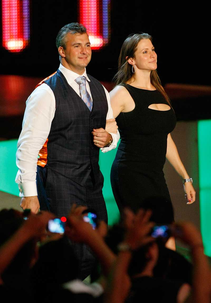 Shane and Stephanie McMahon
