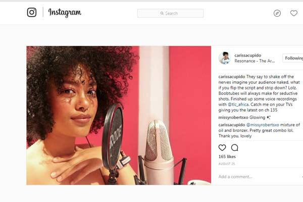 Carissa Cupido Instagram