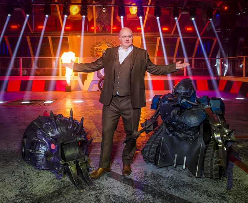The host of Robot Wars