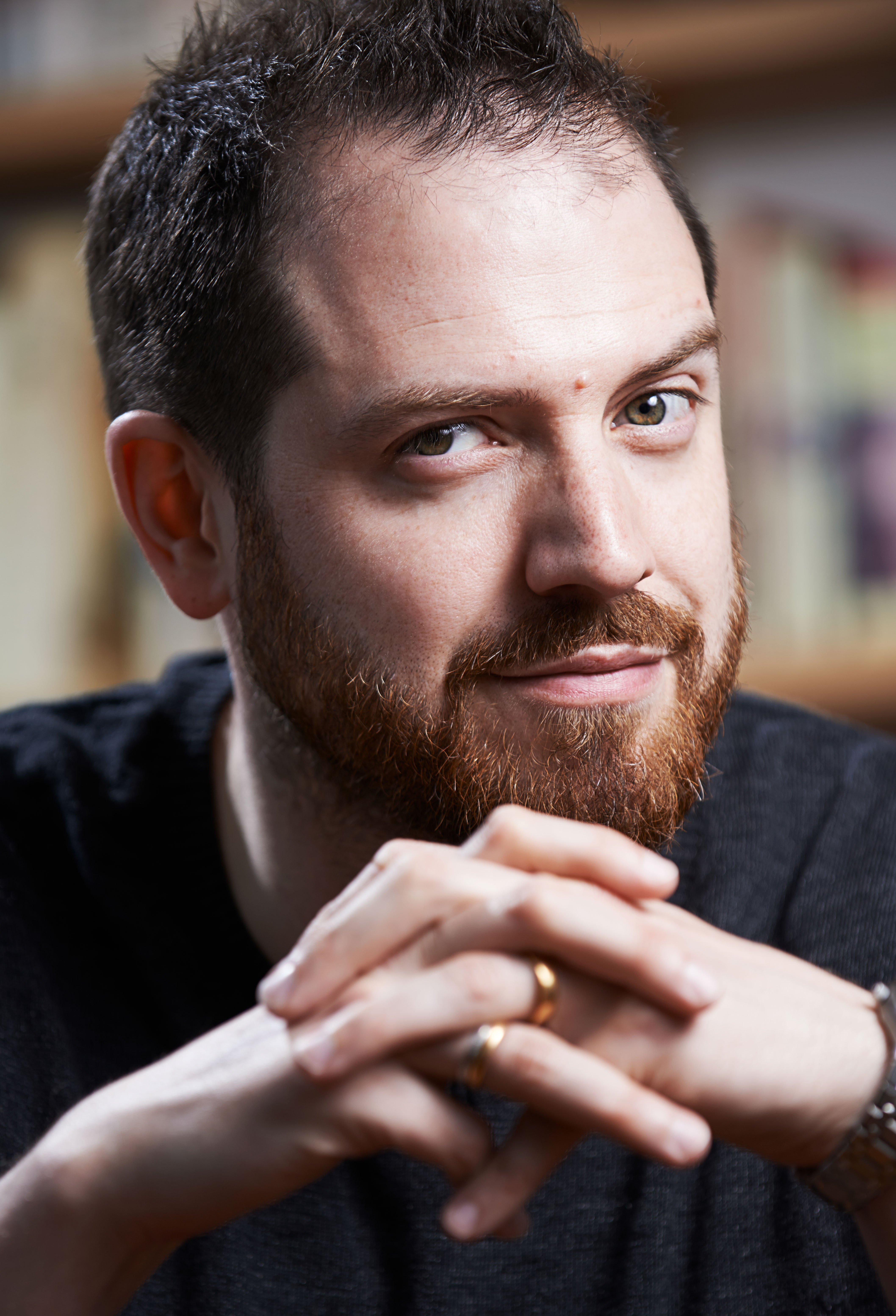 Joe Abercrombie, author of The FIrst Law series