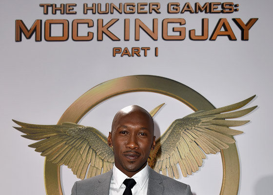 Actor Mahershala Ali attends the premiere of Lionsgate's 'The Hunger Games: Mockingjay - Part 1' at Nokia Theatre L.A. Live on November 17, 2014 in Los Angeles, California. (Photo by Kevin Winter/Getty Images)