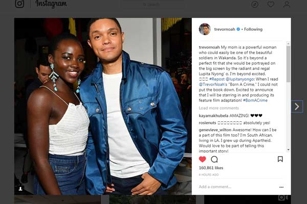 DStv_article_Trevor Noah and Lupita Nyong'o_Born A Crime