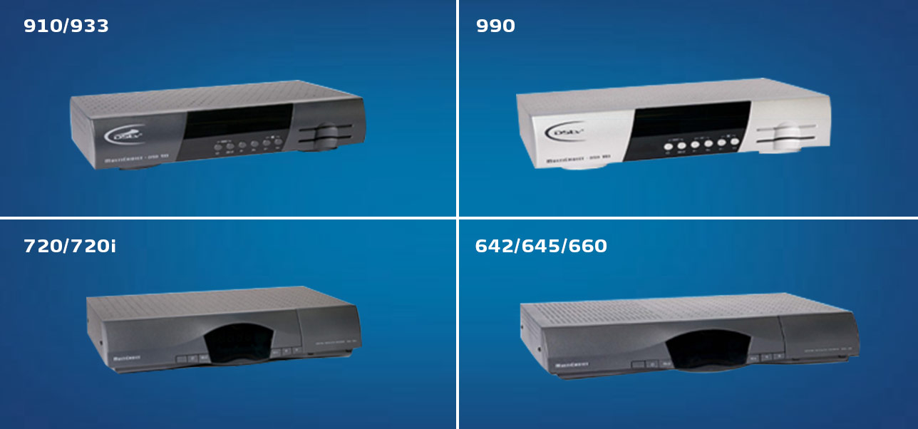 Single View Decoder models: 660, 720, 720i, 910, 933, 990