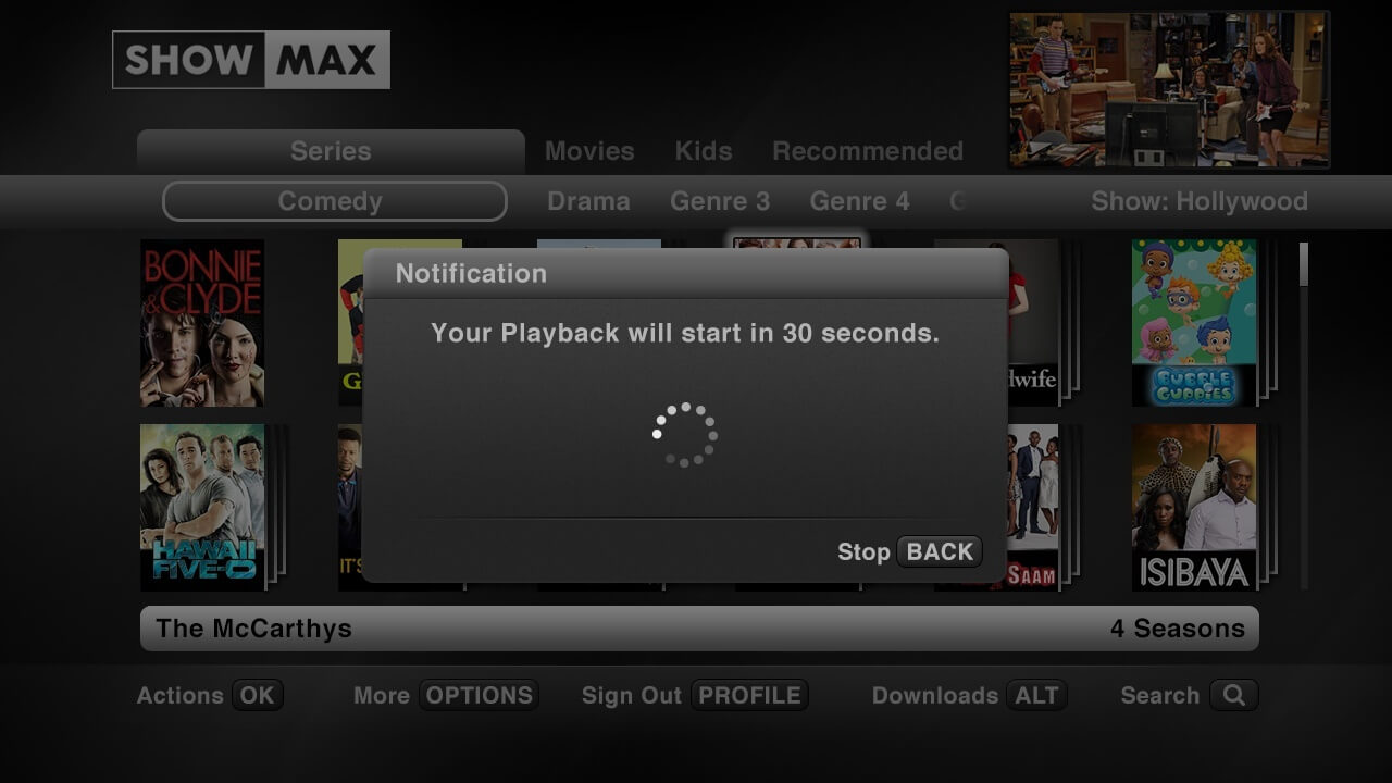 How do I sign into ShowMax?